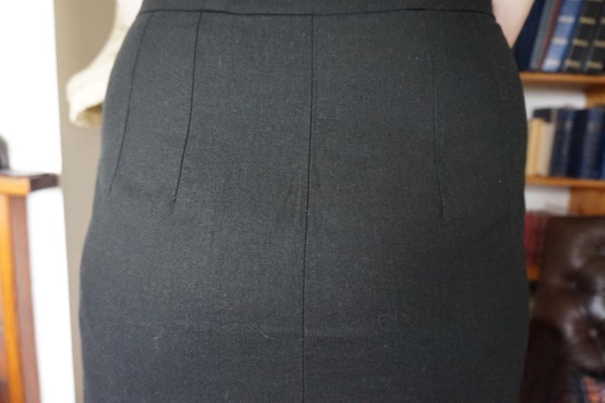 Back Darts Vintage Dress Shetland attieanddora