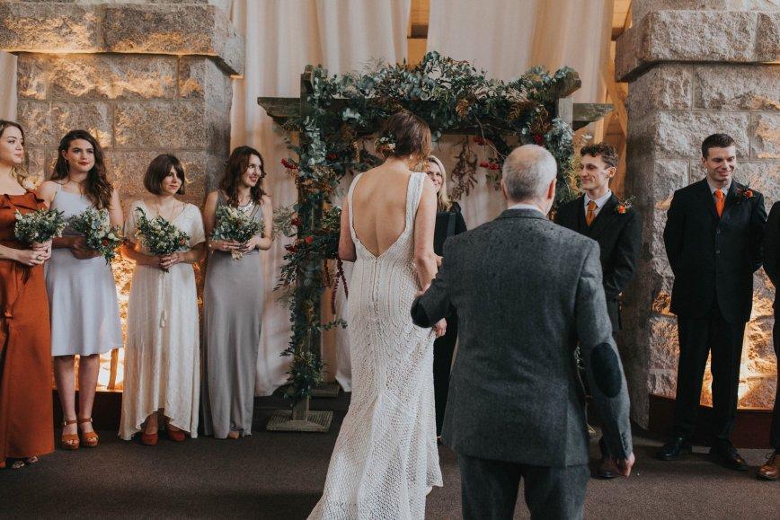 Lace Knit Wedding Dress