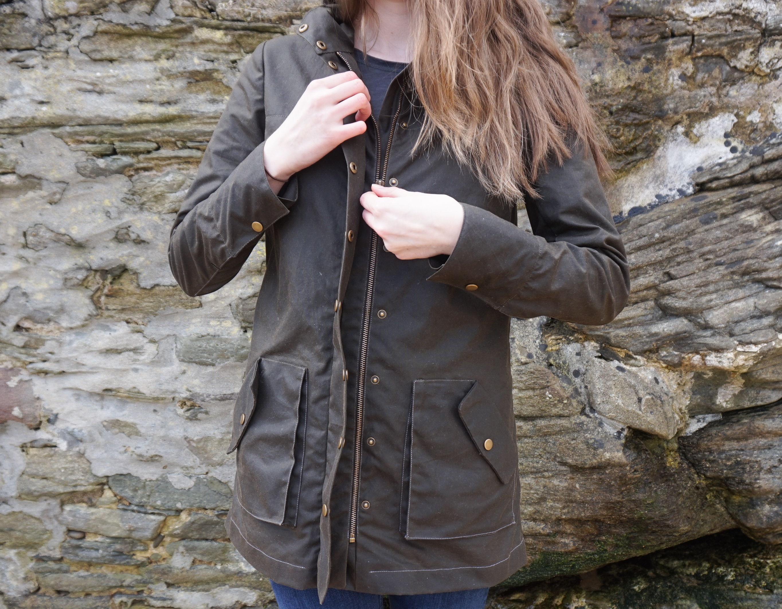 Kelly Anorak by Attie and Dora Zip