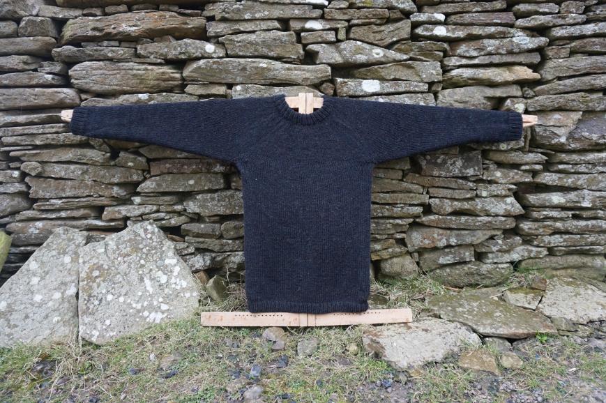 Handmade Shetland wool Jumper Attie and Dora Shetland