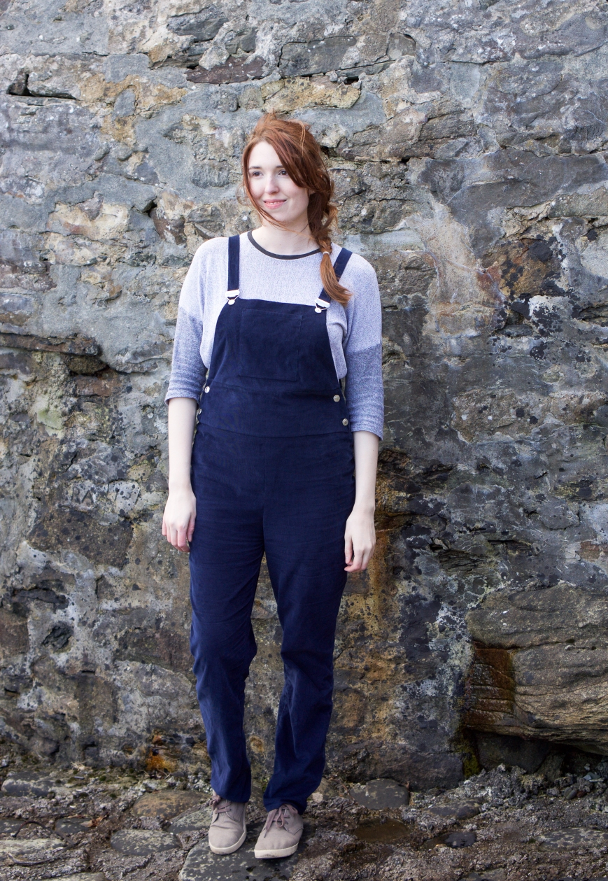 Dungarees Designed and sewn by Attie and Dora
