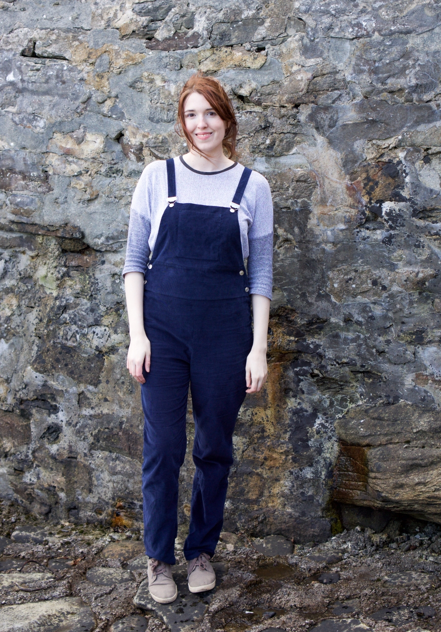 Self Drafted Dungarees by Attie and Dora